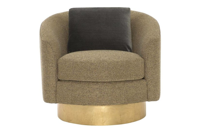 CAMINO SWIVEL CHAIR GOLD