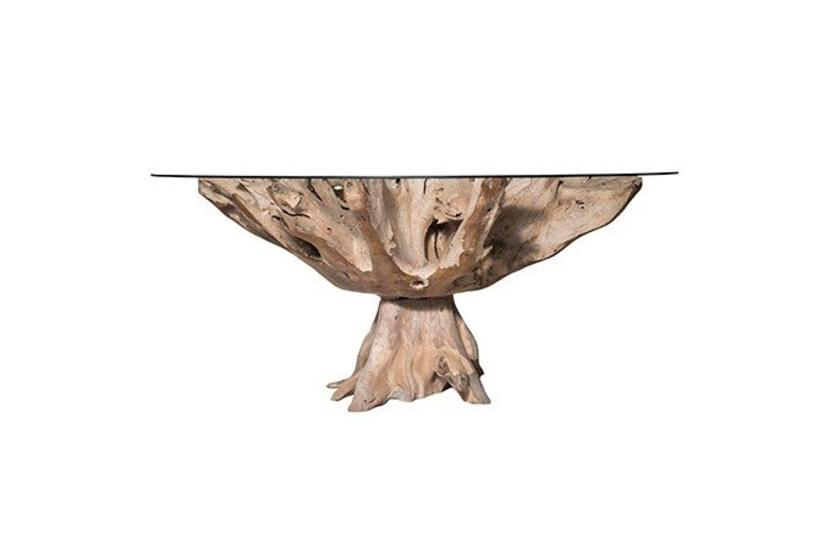 Teak Root Small Table - Natural