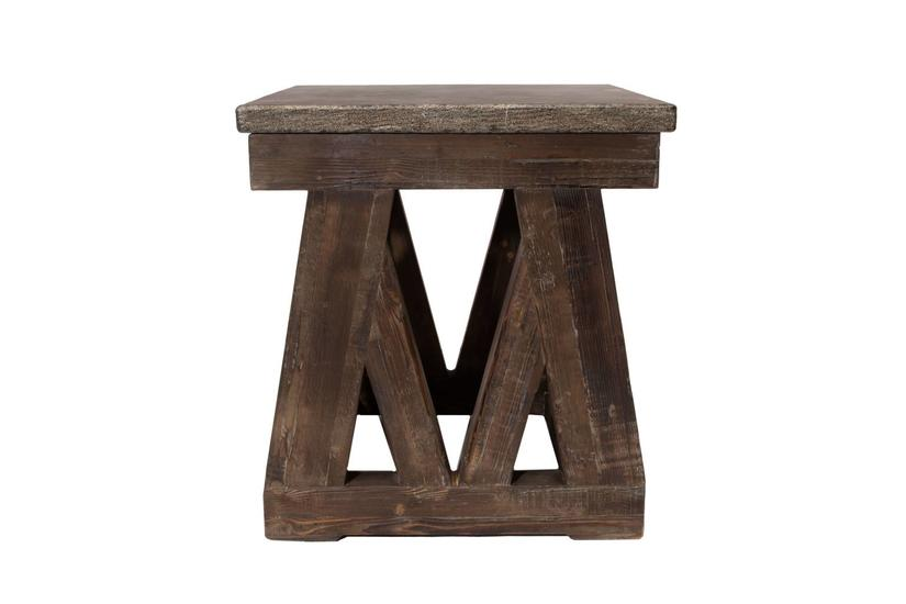 MARBELLA END TABLE MOCHA