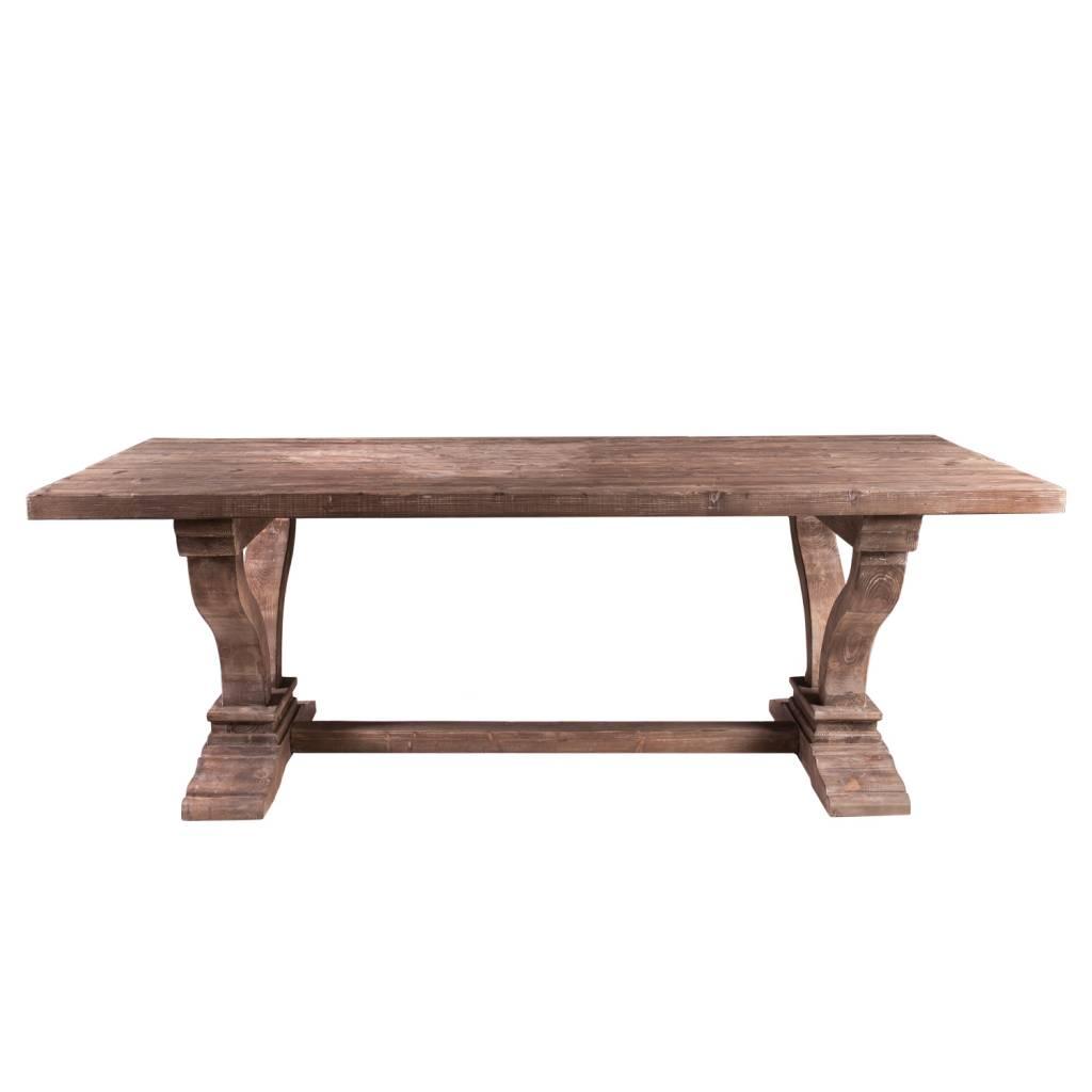 ZANDER TABLE - MOCHA