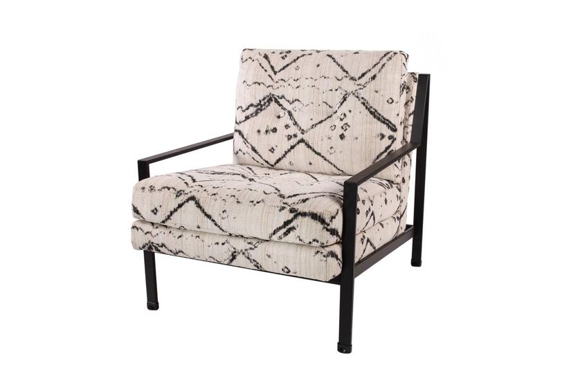 JETTSON METAL CHAIR ONYX