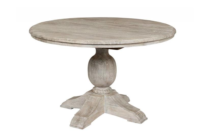 VENTURA DINING TABLE 48'' - ANTIQUE WHITE
