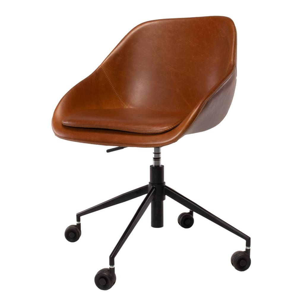 DICKSON BROWN ROLL CHAIR