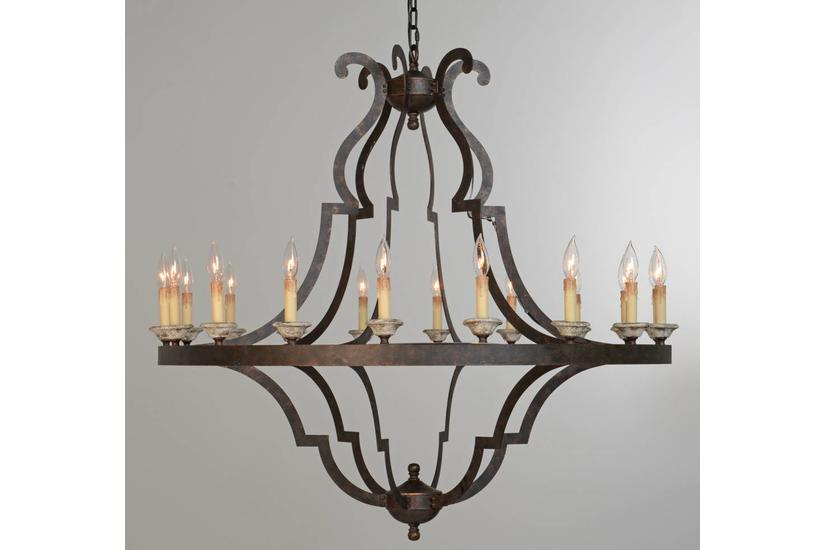 GATSBY LARGE CHANDELIER 43""