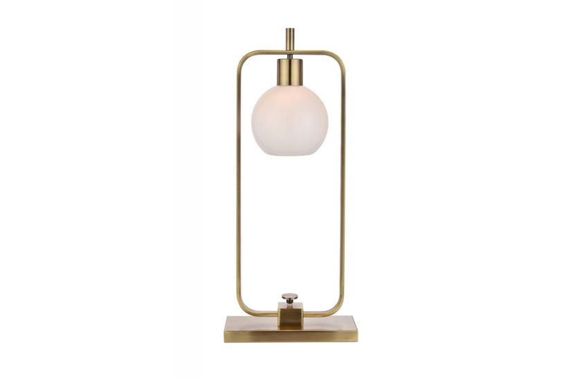 CROSBY TABLE LAMP BRASS