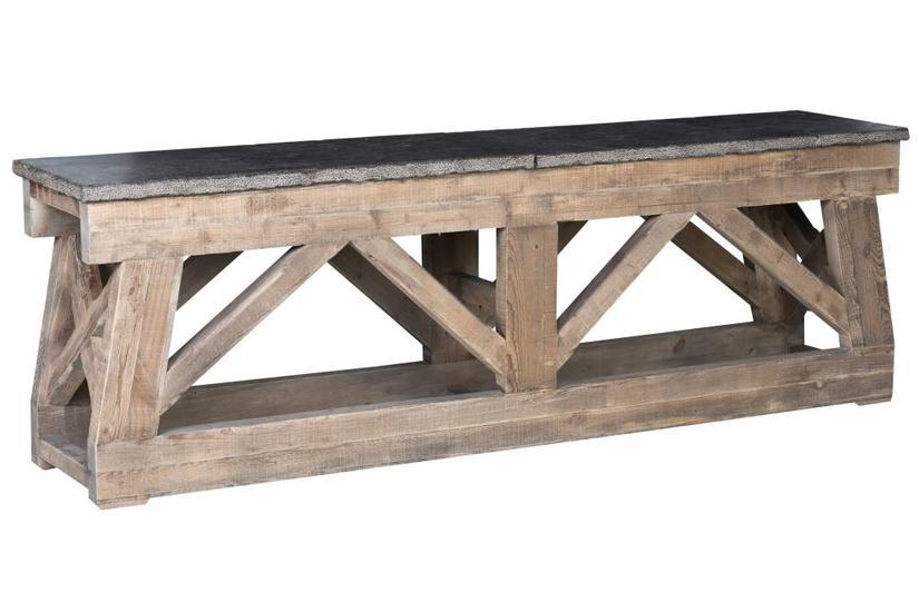 MARBELLA CONSOLE TABLE 100'' - MOCHA