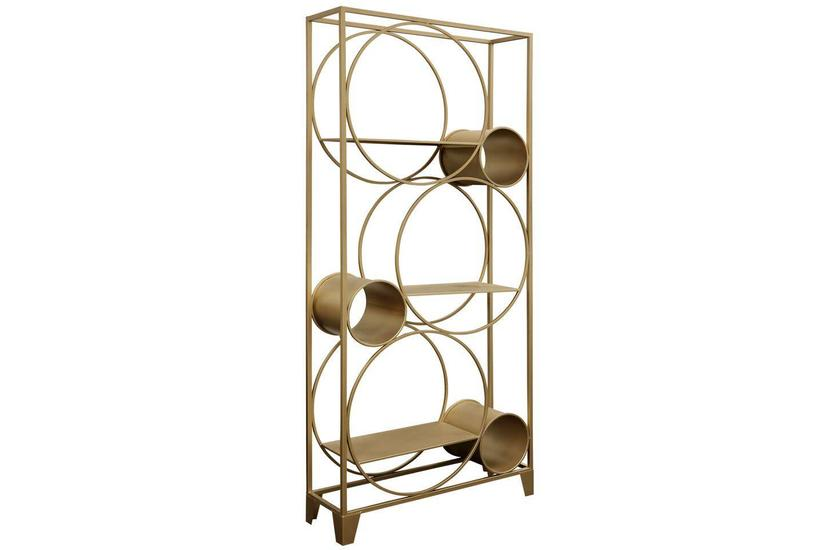 STANTON BOOK SHELF GOLD