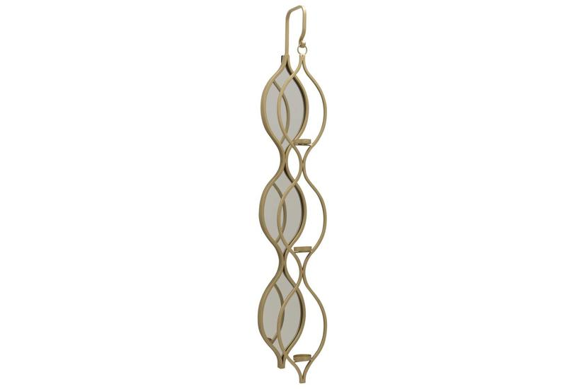 TOLLY WALL CANDLE HOLDER GOLD