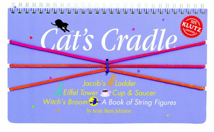 Cat's Cradle: A book of string figures (w/ 3 colored cords)