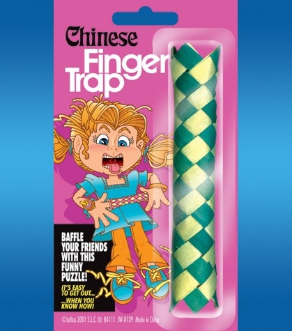 Trickmaster Chinese Finger Traps