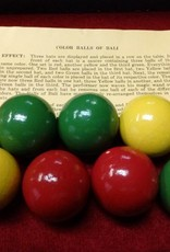 Color Balls of Bali 1 1/2 inchs