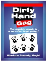 Trickmaster Dirty Hand Gag