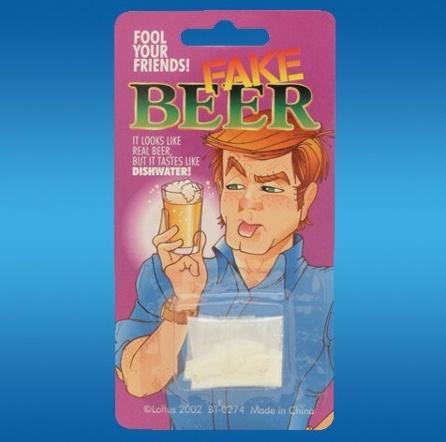 Fake Beer