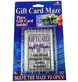 Fun Inc. Gift Card Maze