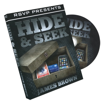 RSVP Magic Hide & Seek by James Brown