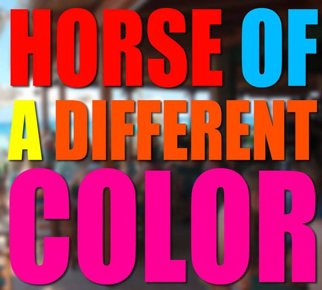 Horse of a Different Color by Dave Johnson