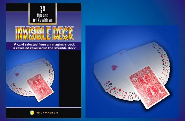 Trickmaster Invisible Deck w/ Book