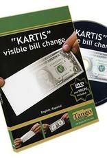 Tango Magic Kartis visible bill Change