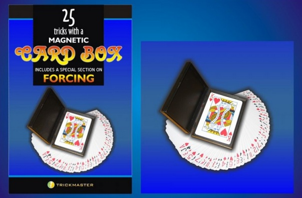 Trickmaster Magnetic Card Box w/Book Kit