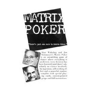 Fun Inc. Matrix Poker