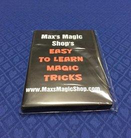 Max Krause Max's Magic Shop Easy to learn Magic Tricks