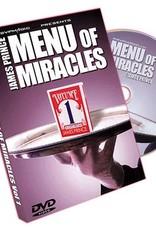 Menu of Miracles Vol. 1 by James Prince