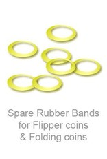Murphy's Spare Rubber Bands for Flipper coins & Folding coins - (25 per package)