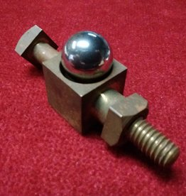 Steel Ball Through Brass Bolt