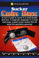 Trickmaster Sucker Coin Box w/ Mesh Coin Bag