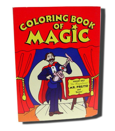 Super Mini Magic Coloring Book