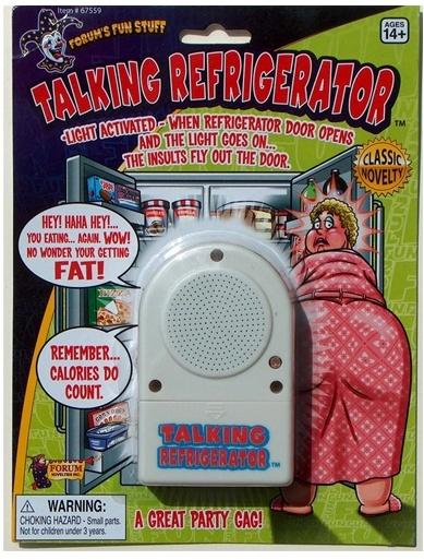 Trickmaster Talking Refrigerator