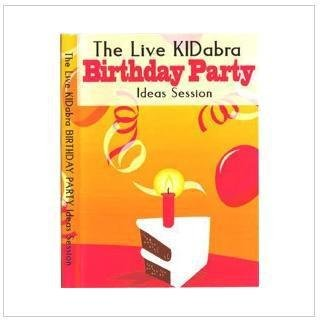 The Live KIDabra Birthday Party Session