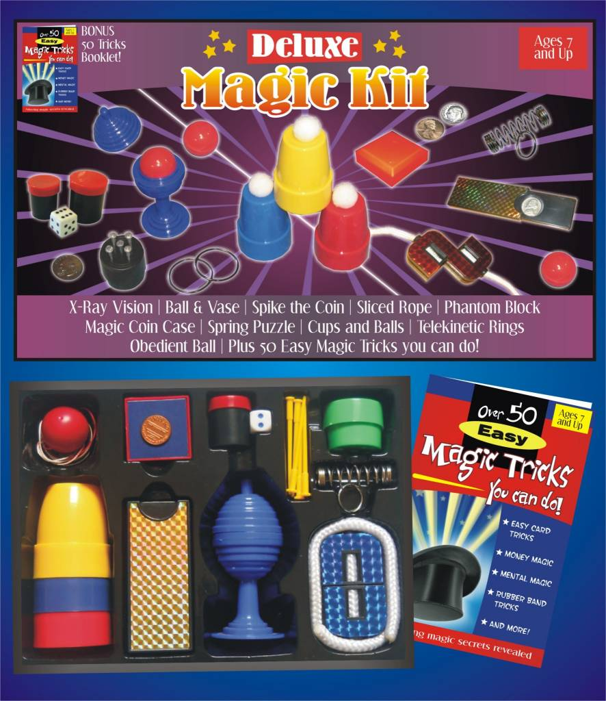 Royal Magic Trickmaster Deluxe Magic Kit