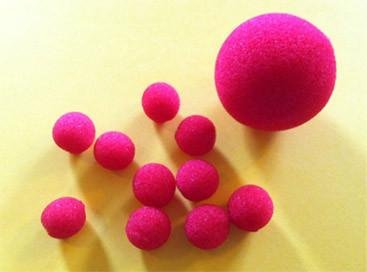 "Magic By Gosh Sponge Balls 1/2"""