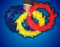 Trickmaster Color Changing Feather Wreaths