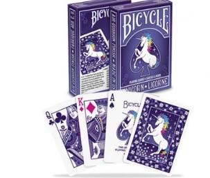 Bicycle Bicycle Unicorn Deck