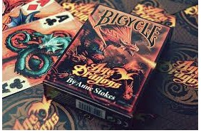 Bicycle Bicycle Age of Dragons Deck