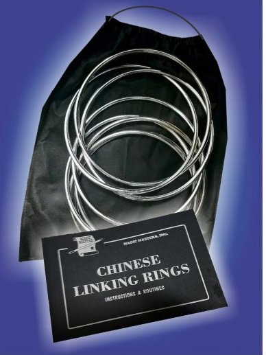 Magic Masters Linking Rings Pro (8 inch)