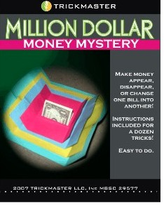 Trickmaster Million Dollar Mystery (Buddha Papers)