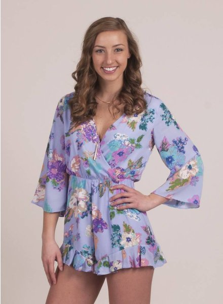Lilly Floral L/S Romper