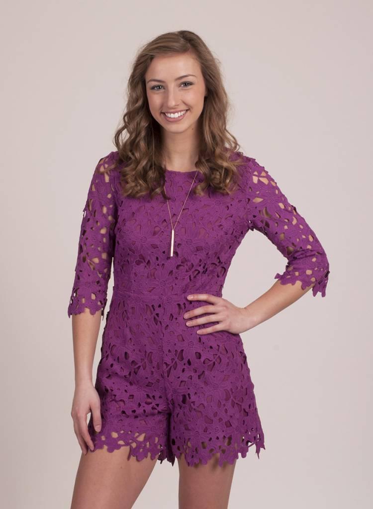 Allie Crochet Romper