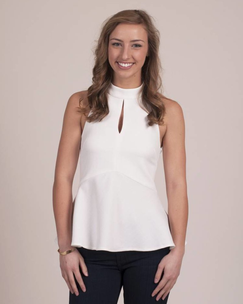 Lucille - Halter High Neck Tank