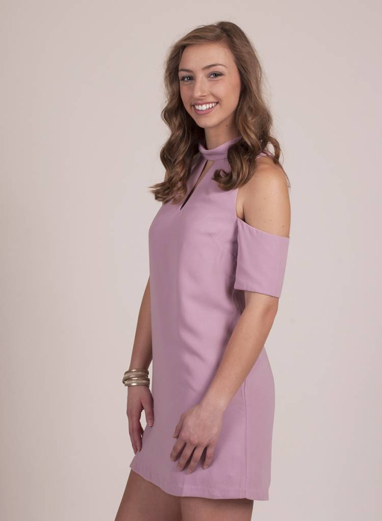 Mellie - Cold Shoulder Dress