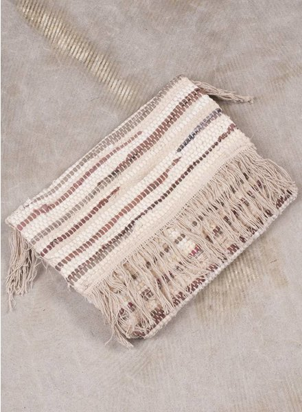 Michelle Fringe Foldover Clutch