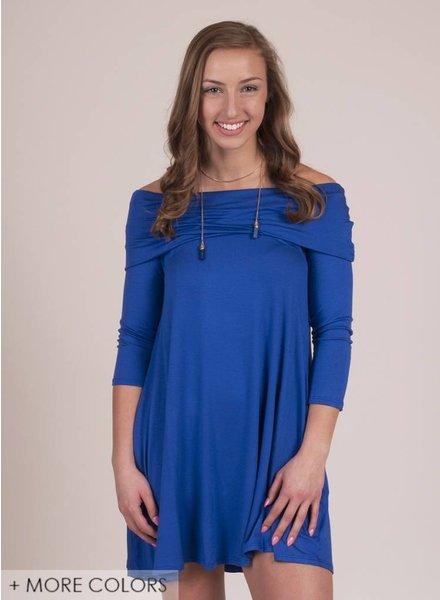 Emme OTS Dress w/ Pockets