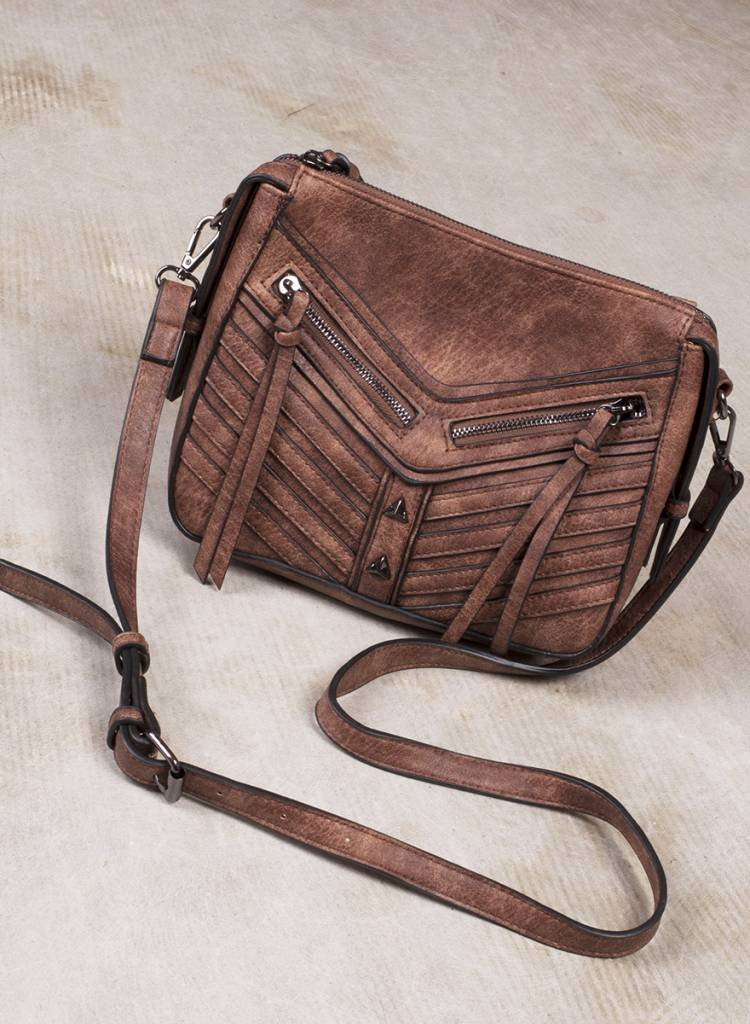 Victoria Double Zip Messenger