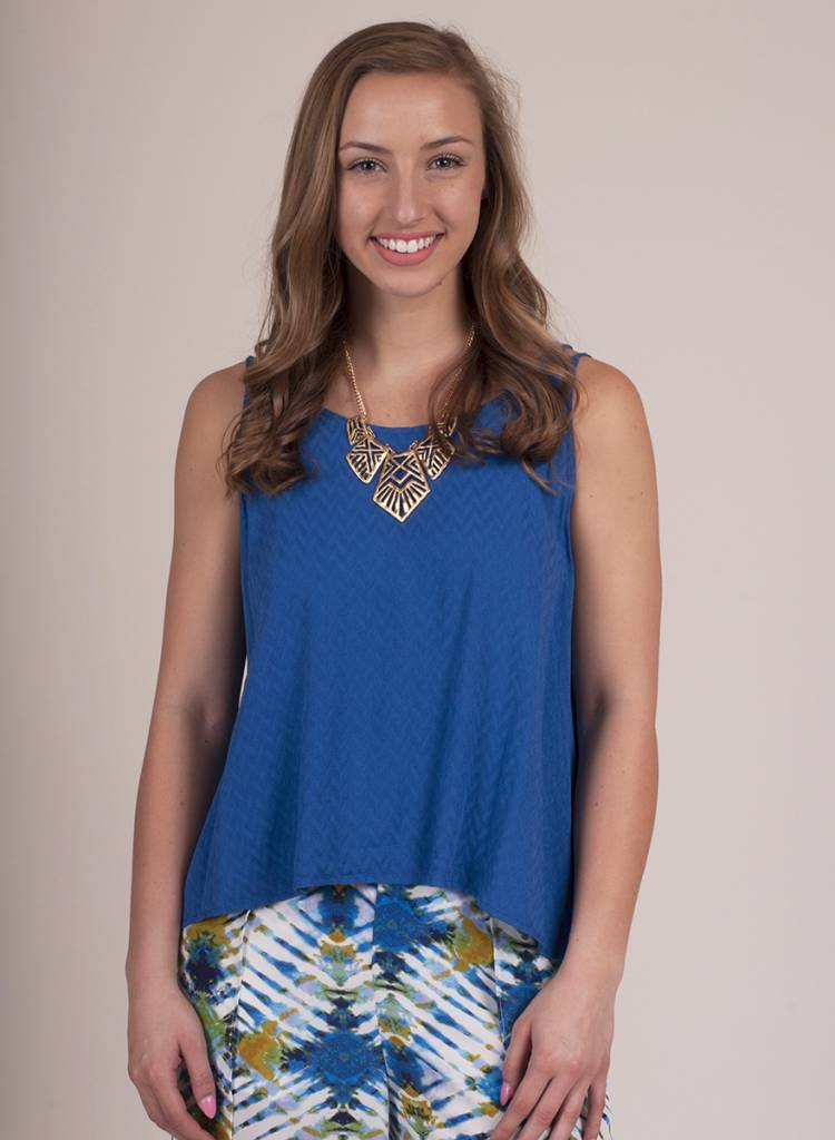 Jack by BB Dakota - Bette Chevron Top