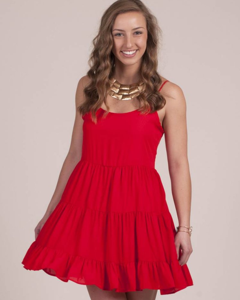BuddyLove - Hillary Ruffle Dress