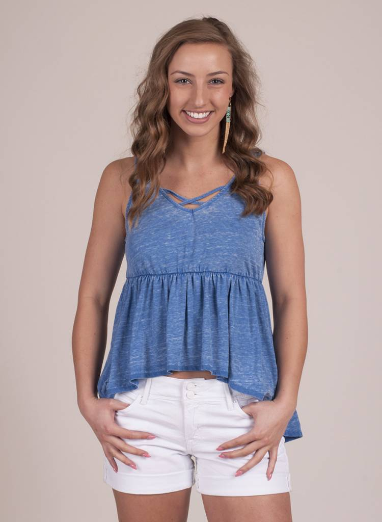 Jack by BB Dakota - Catherine Burnout Tank
