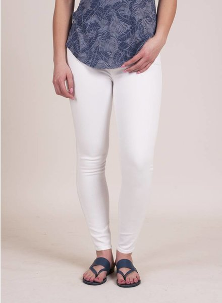 Hudson - Nico Midrise Ankle Super Skinny in White